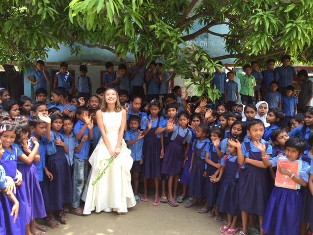 モデルの鎌田安里紗さんがバングラデシュで感じたこと