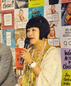 ファッションジャーナリスト 生駒芳子さん