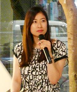 ピープル・ツリーのアンバサダーでフリーアナウンサー、エシカル協会代表 末吉里花さん