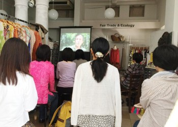 Pecha kucha CAFÉ番外編 – ドキュメンタリー映画『オキュパイ・ラブ』上映しました!