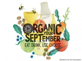 """「オーガニック・セプテンバー」<br /> 9月は、オーガニックを""""食べる、飲む、使う、選ぶ""""月間に"""