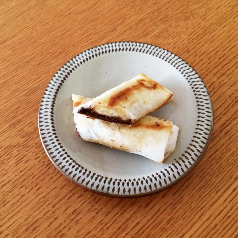 フェトレード・チョコをちょっとアレンジ!<br>かんたんレシピ 「チョコバナナ春巻き」