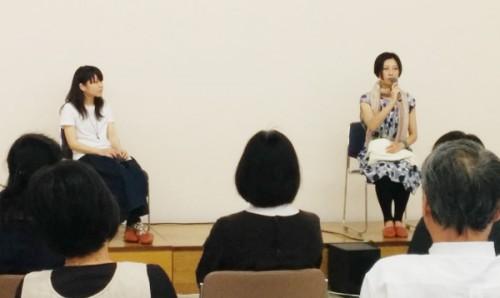 青梅織物工業協同組合で行われた「にしたまソーシャル映画祭キックオフ」に参加しました。