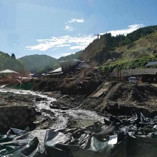 九州北部豪雨から1か月半<br>災害復興ボランティアが足りません!