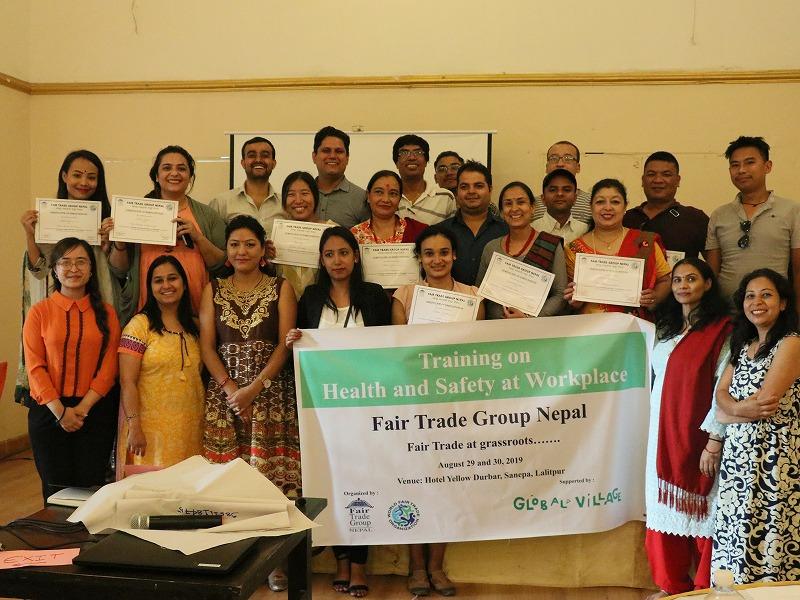 安心して笑顔で働けるように <br>~ネパールとバングラデシュで職場の安全講習を実施~